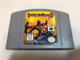Nintendo 64 Dual Heroes Juego De Coleccion 1998 Funcionando