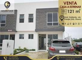 Casa de Venta a estrenar en Urbanización ZHARA, Ingreso a la Ciudad de Pasaje
