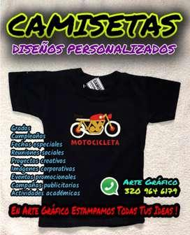 Arte Gráfico Camisetas