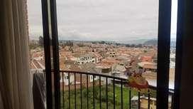 ¡OPORTUNIDAD! venta de hermoso apartamento amplio en condominio,  4to piso, ubicado en Totoracocha cerca del complejo