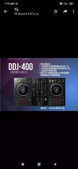 Consola dj ddj-400