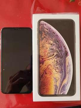 Vendo iPhone XS Max de 256 Gb color Dorado Perfecto Estado