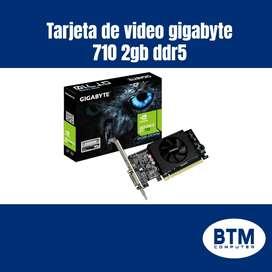 TARJETA DE VIDEO GIGABYTE 710 DDR5 2GB