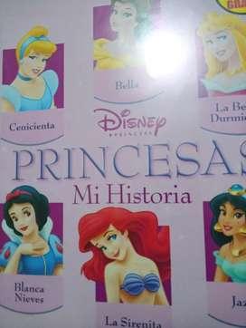 Álbum completo de las princesas disney