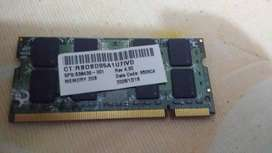 Memoria RAM  2GB  pc-2- negociable