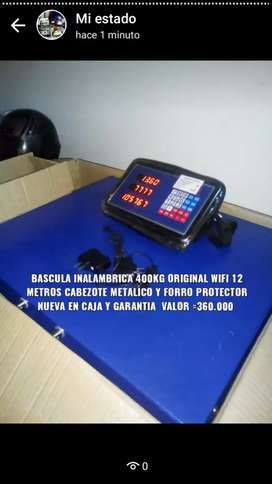 BASCULAS ELECTRONICAS A DISTANCIA WIFI 10 METROS