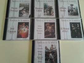 COLECCION TESOROS DE LA MUSICA CLASICA 7 CD