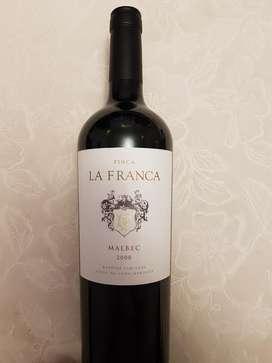 Vino Finca La Franca Malbec 2008 Ed. Lim
