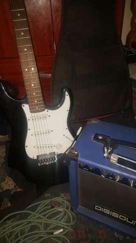 Guitarra Eléctrica Parquer
