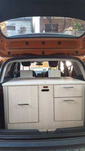 MINI CAMPER; baul para duster, captur o similar