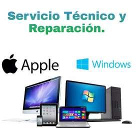 Servicio técnico para Pc y Mac
