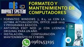 Servicio Técnico de Computadores - Formateo e Instalación de Programas