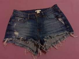 Short jeans talla 10