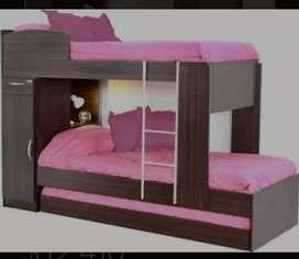 Vendo cama triple