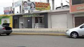Se arrienda local comercial a la entrada de la ciudad