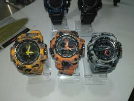 Reloj Casio Gshock Dual Time Resistente