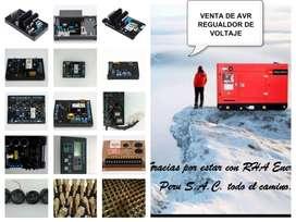 AVR Tarjetas para Grupos electrógenos. VENTA