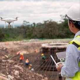 Seguimiento y monitoreo de obras con DRONES