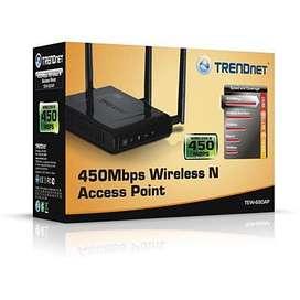 acces point wireles n450 trendnet tew 690ap wifi gigabit segunda mano  Perú