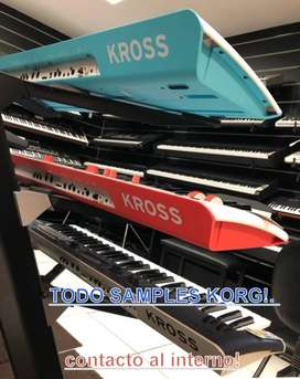 KORG KROSS 2 , TRITON TR , SERIE PA TODO SAMPLES!