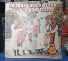 L.P. 33 rpm. vinilo. 20 Años Con Lo Mejor De Los Fronterizos