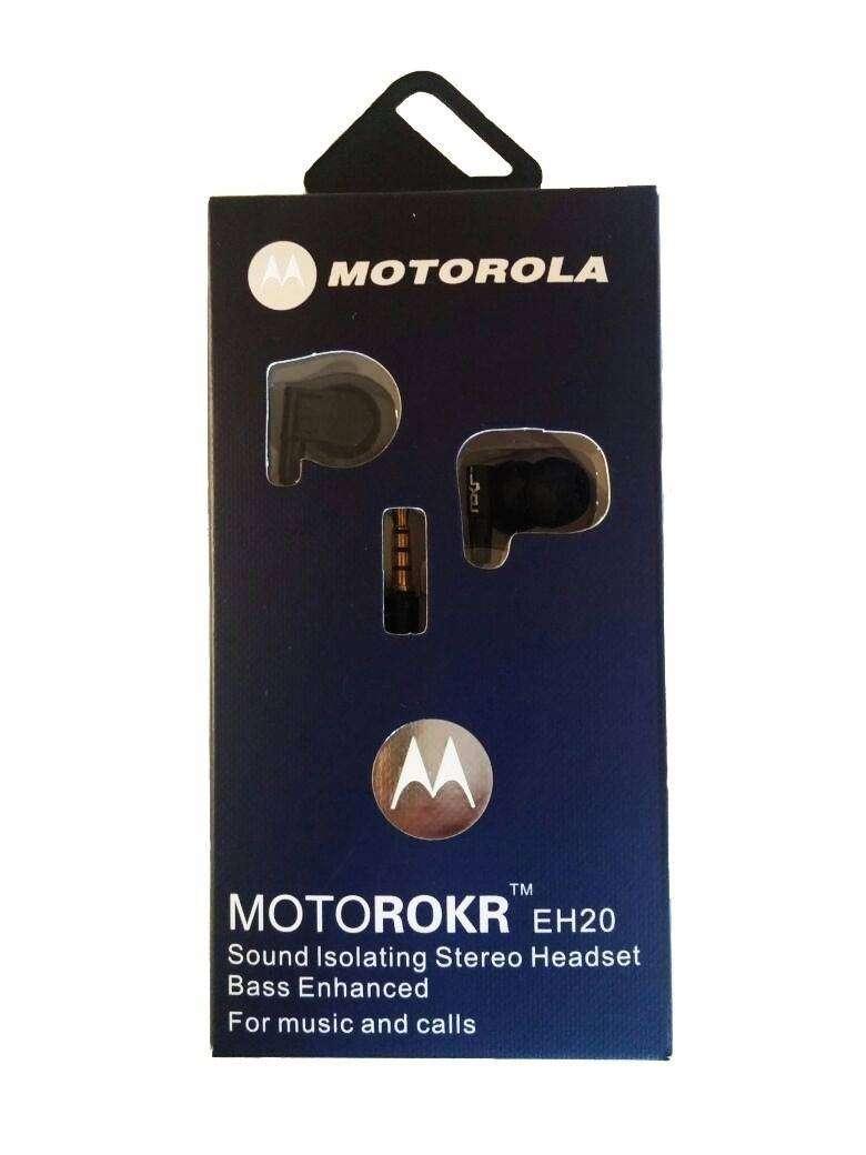 Auriculares Manos Libres Motorola Universal MOTOROKR EH20 0