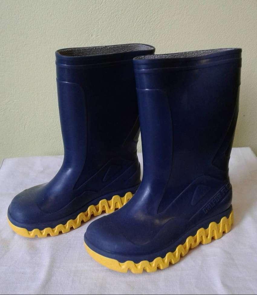 Botas lluvia Calfor nro 23  color azul 0