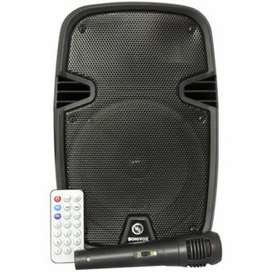 Cabina Parlante Bluetooth Portatil Recargable 6.5 Pulgadas