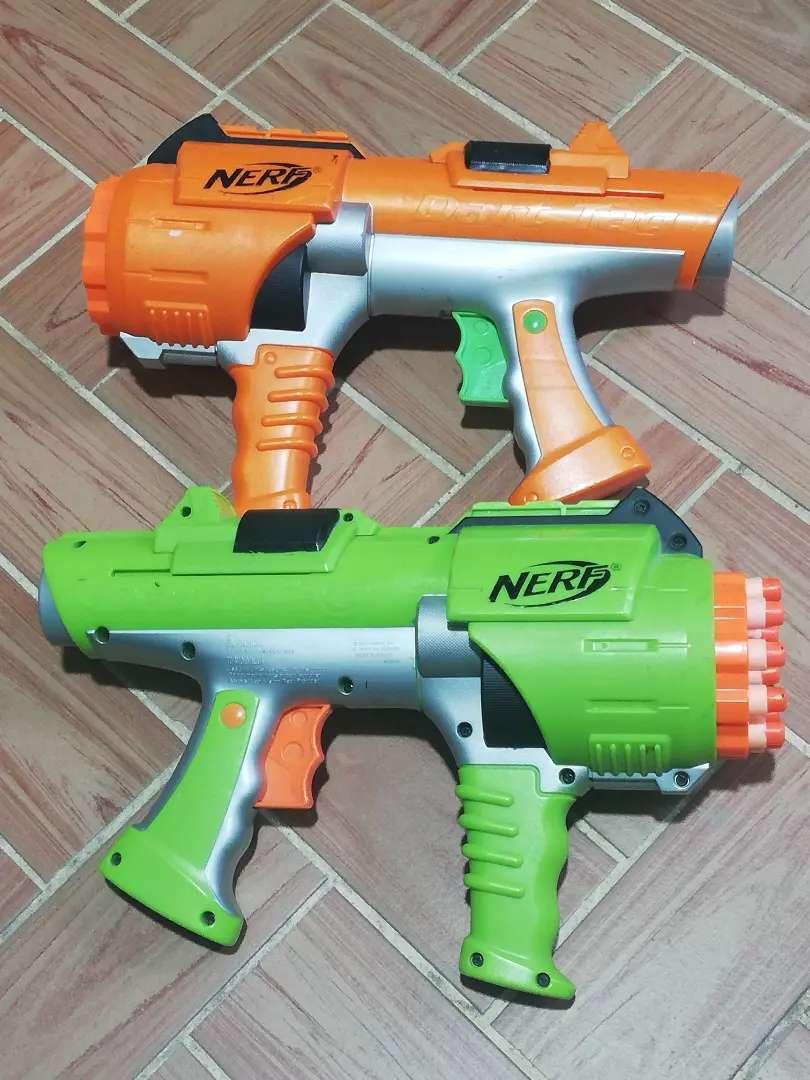 Pistola nerf dart tag