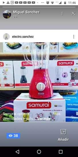 Licuadora samurai optimix  de 500 w