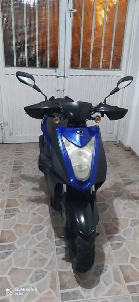 Kymco Agility RS Naked 2013 Azul, Exelente estado - Poco uso