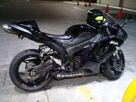 Kawasaki zx6r 2007, llantas nuevas, escape two brothers, bien conservada, a toda prueba, papeles al día