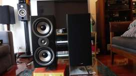 Parlantes Polk Audio Monitor 40 Series ll, bafles, monitores,infinity bose,technics, Kef, Klipsch,jamo,BW