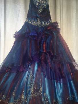 Vestido de XV años TORNASOL