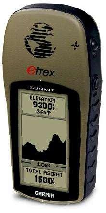 GPS Garmin eTrex Summit impermeable navegador GPS de senderismo como nuevo 10-10