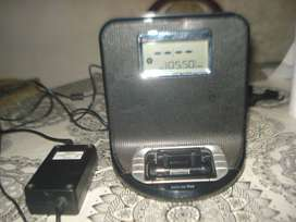 Dock Philips Radio Fm Y Entrada Auxiliar Exc.sonido No Envio