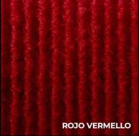 VENTA DE TAPIZON ROJO VERMELLO (IMPORTE x MTS)