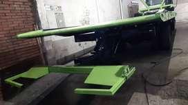 planchon grua plataforma plancha