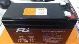 Baterías de segunda 12 voltios 7 amperios