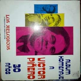 discos de acetato de Los Melódicos 30 Años