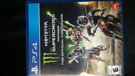 Juegos ps4 monster  energi supercroos