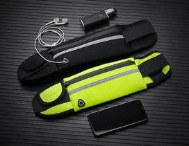 Canguro deportivo impermeable mini bolsillos multifuncional