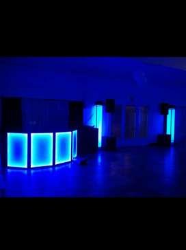 Sonido e iluminación, servicio de dj