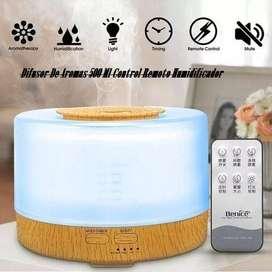 Difusor De Aromas 500 Ml Control Remoto Humidificador