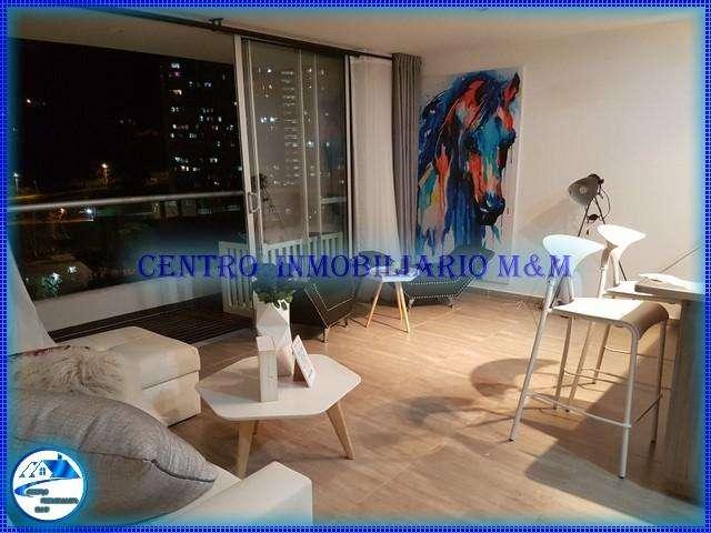 Renta de Aparta Estudio Amoblado De lujo en Medellín Código: 2002 0