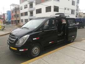Usado, Alquiler Minivan Hyundai H1 11 Pasajeros segunda mano  Perú