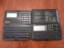 Agendas Casio Sf-5300 Y Sf-4600 Digital Diary De 64 Kb160