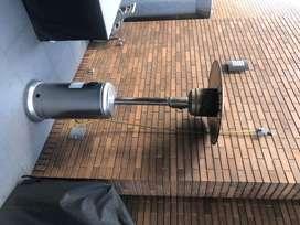 Calefactor exterior a gas