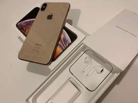 Iphone xs max dorado 64 gb