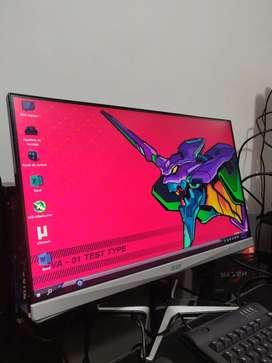 Monitor 24 pulgadas 2K acer gaming o diseño